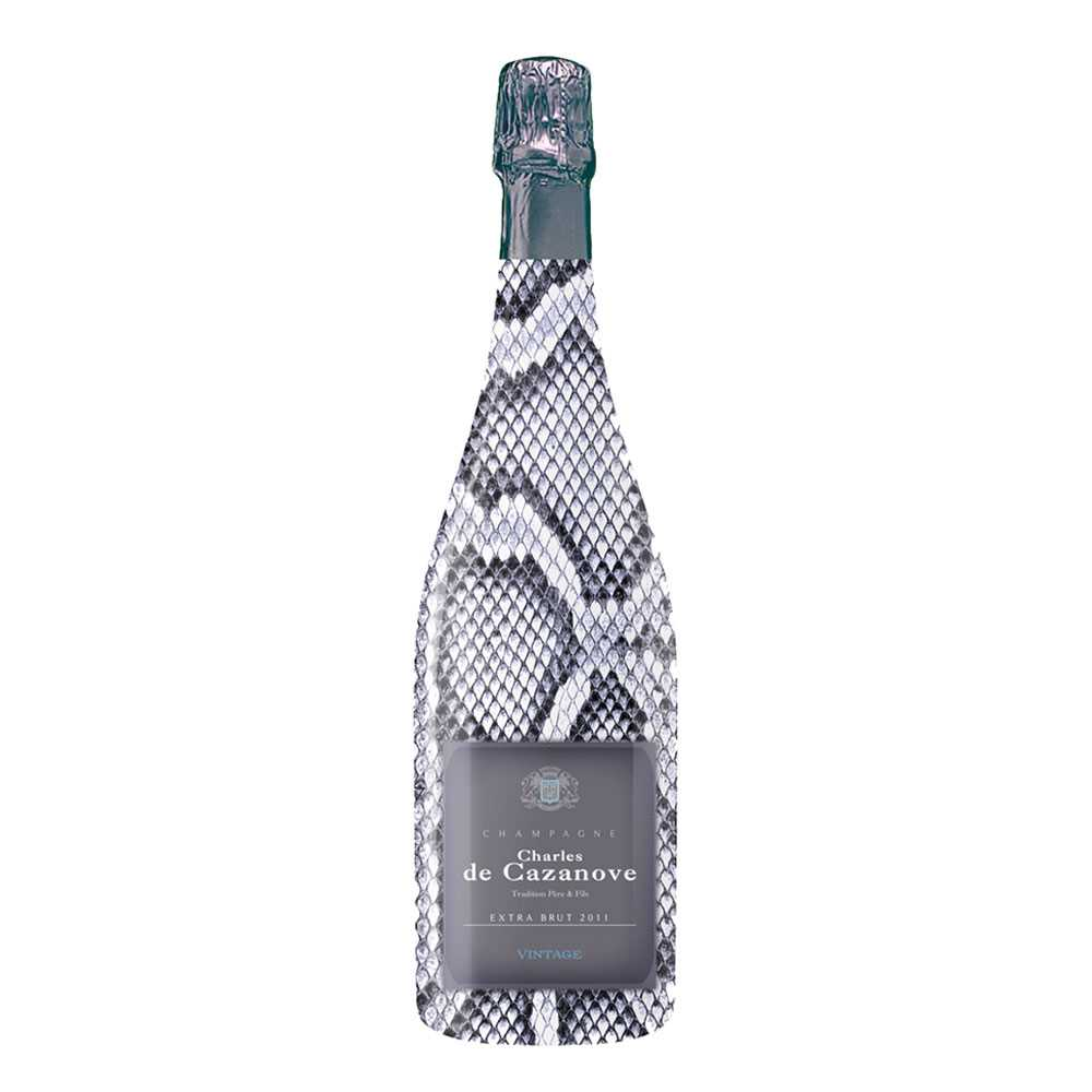 Charles de Cazanove Sauvage Extra Brut 2011 (750ml)