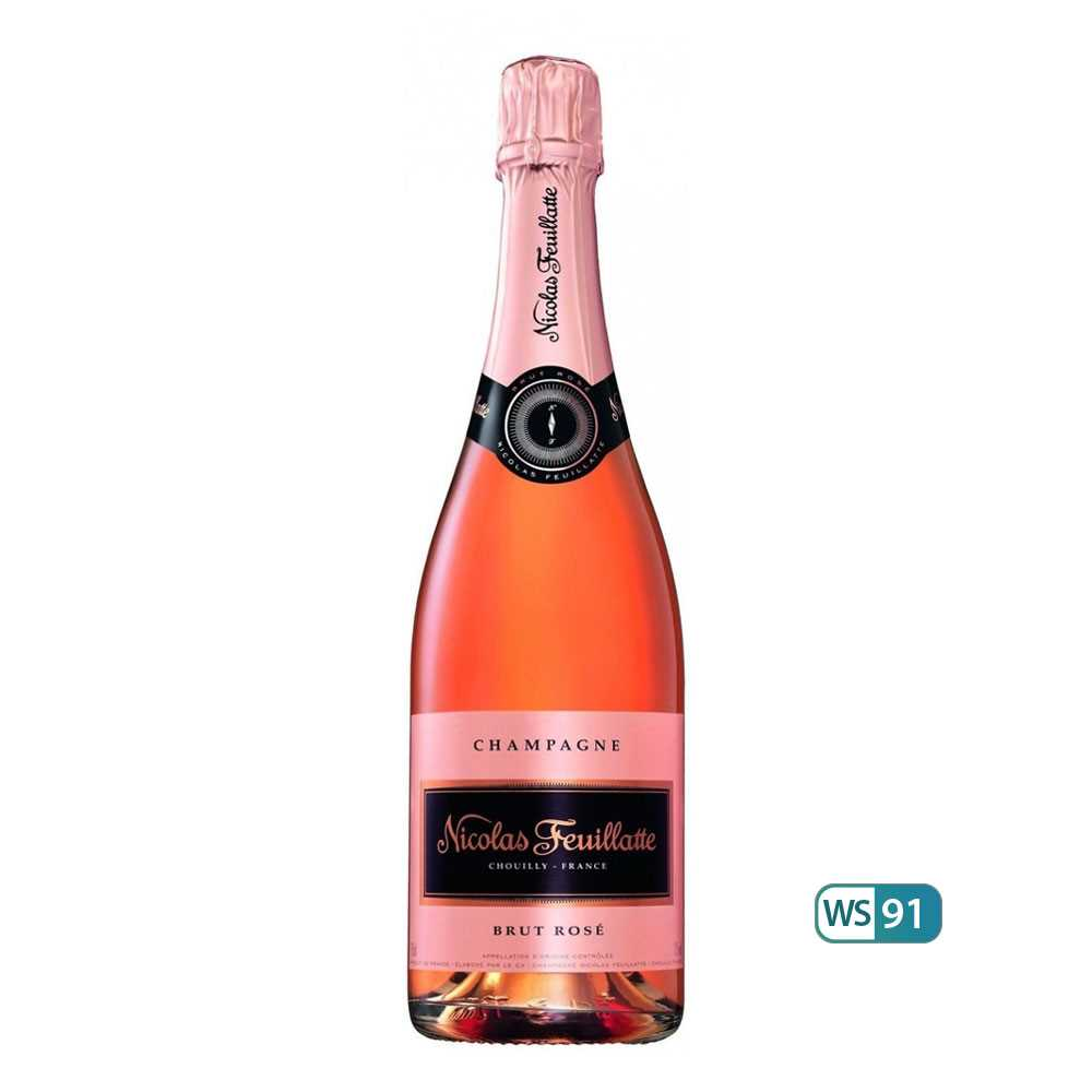Nicolas Feuillatte Champagne Rose (750ml)