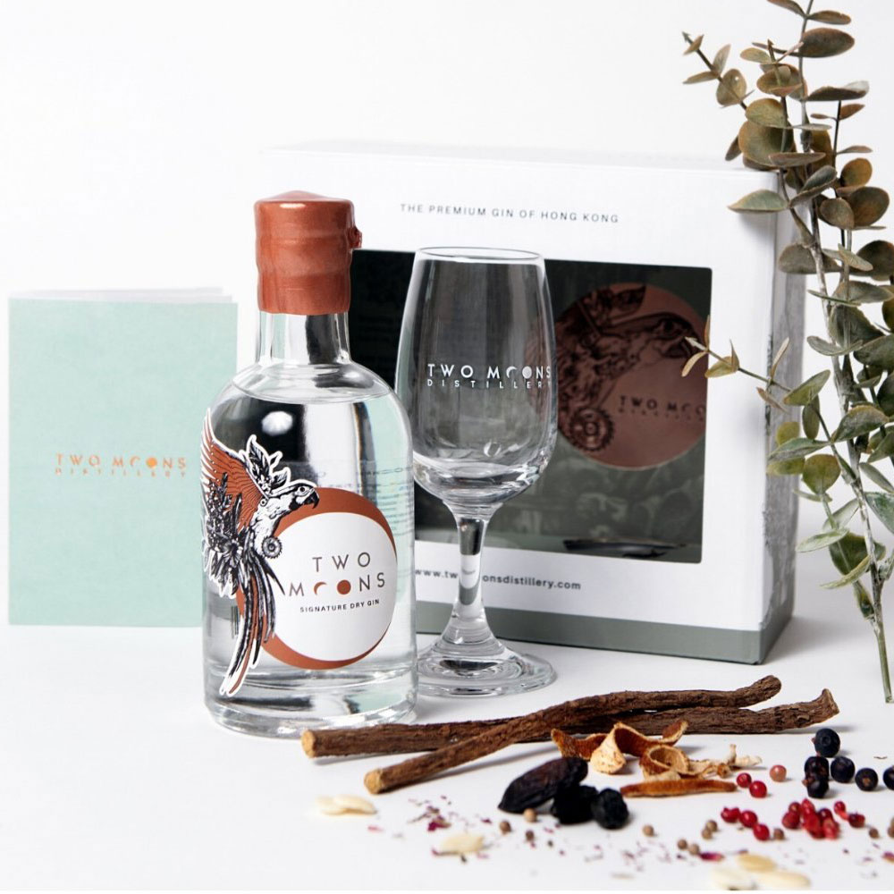 Two Moons Signature Dry Gin Tasting Set (200ml)