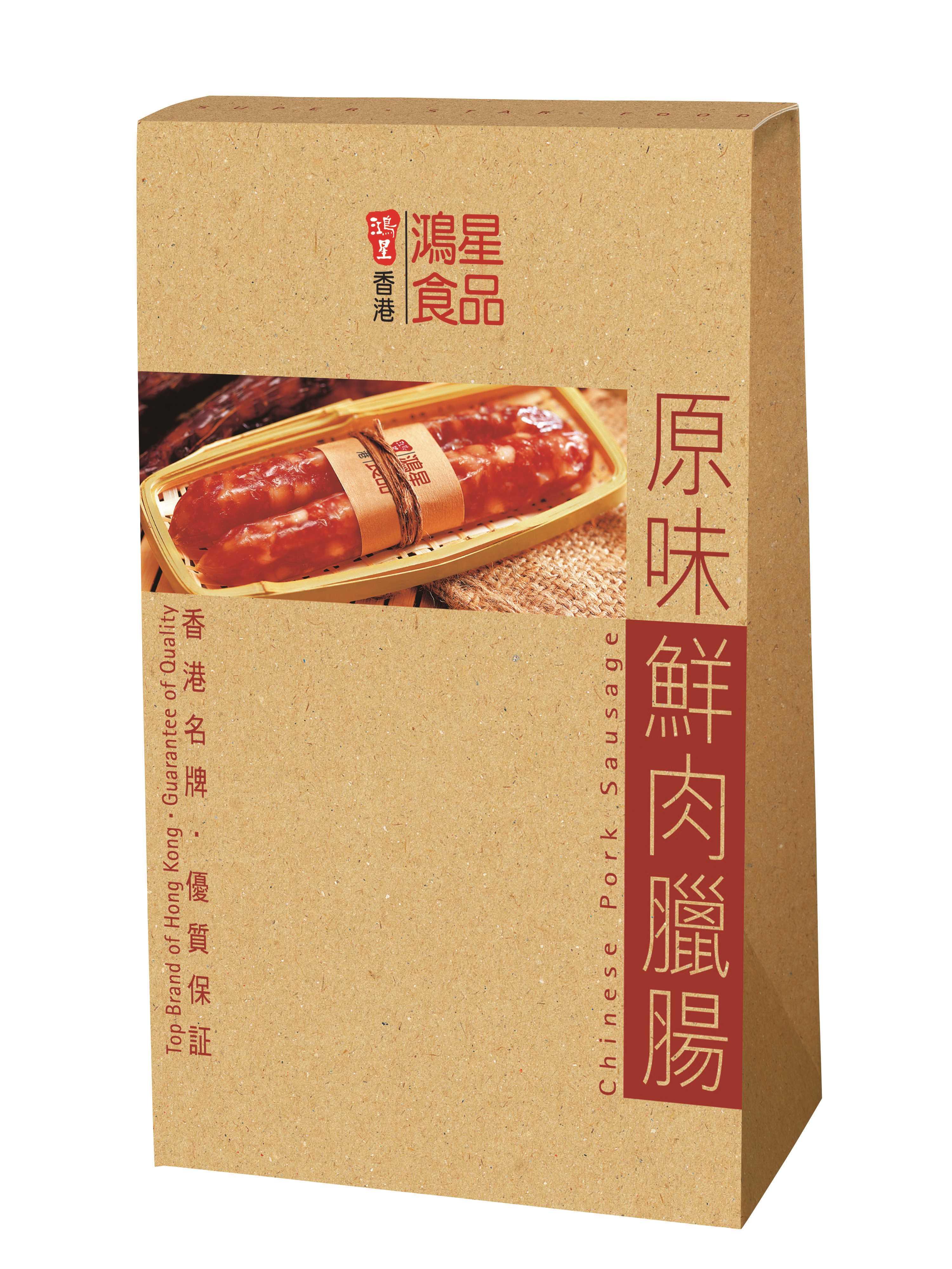 原味鮮肉臘腸12條