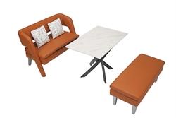 CAAN D003B 餐桌梳化系列
