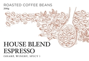 HOUSE BLEND FOR ESPRESSO