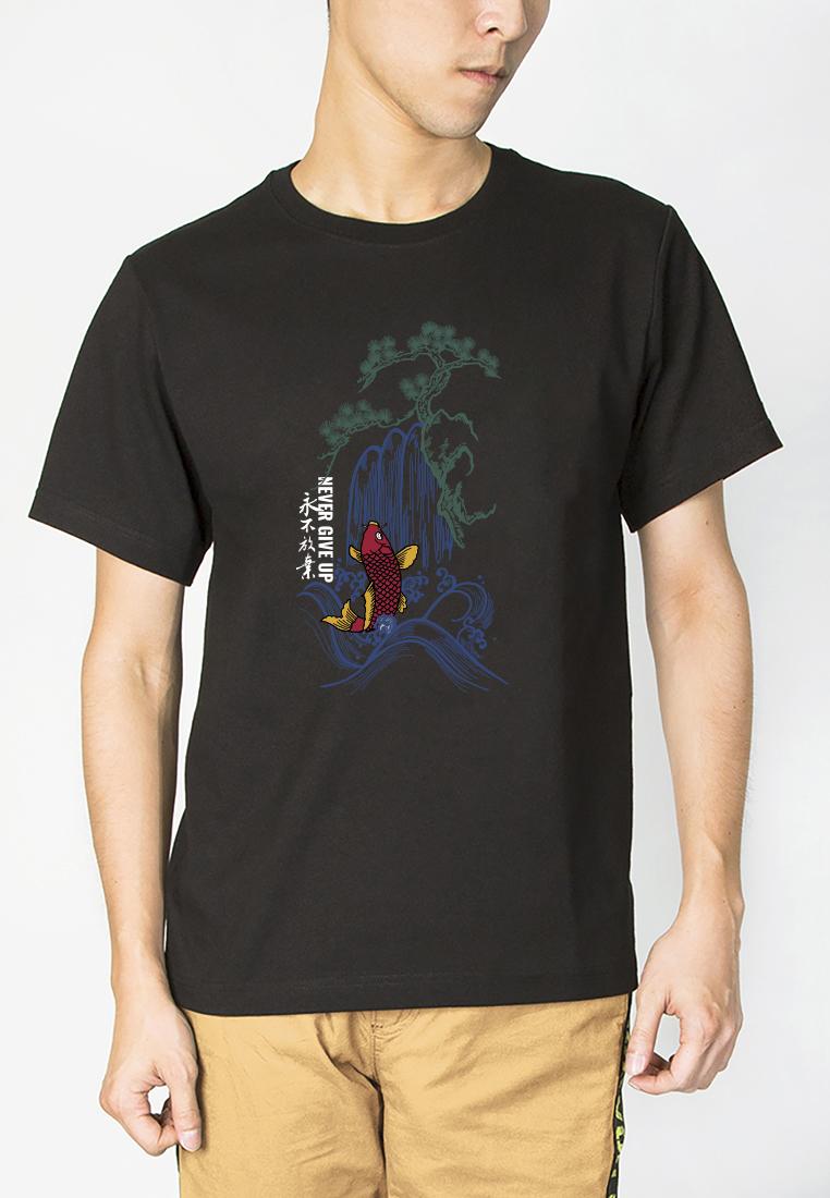 BSX Regular Fit Printed T- shirt20409024698