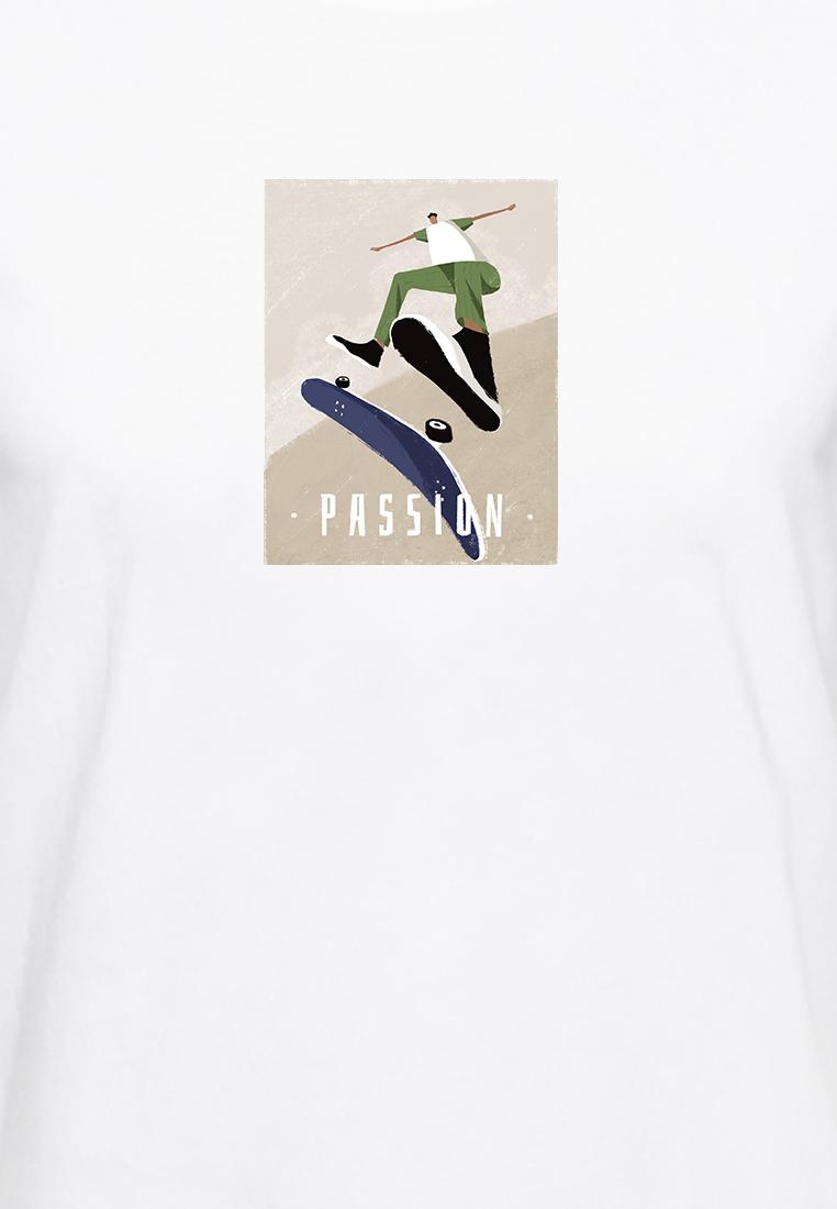 BSX Regular Fit Printed T- shirt10409024663