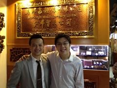 香港品牌傳奇萬希泉舵手沈慧林大力支持協會發展
